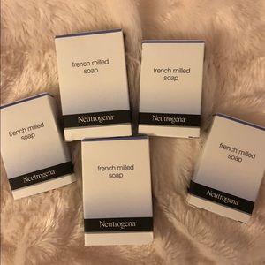 Neutrogena soaps set of 5